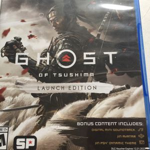 Ghost Of Tsushima PS4 Playstation4 for Sale in Fontana, CA