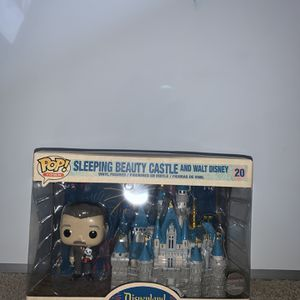 Sleeping Beauty Castle with Walt Disney - Disneyland 65th - Disney Exclusive Funko Pop for Sale in Mableton, GA