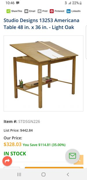 Brand new drafting table for Sale in Los Angeles, CA