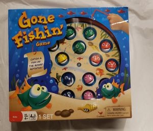 Kids Toy - gone fishing game for Sale in Pleasanton, CA