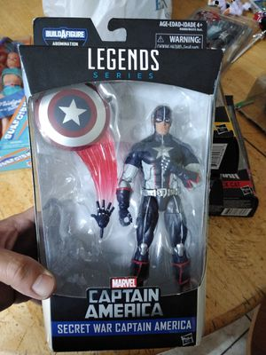 Marvel legends Captain America for Sale in Commerce, CA