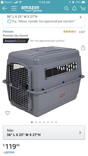 Large Dog Crate and Airline Crate - brand new for Sale in Chicago, IL