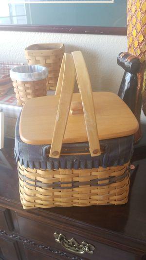 Longaberger collectors club harbor basket for Sale in Centennial, CO