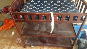 Baby changeing table for Sale in Fresno, CA