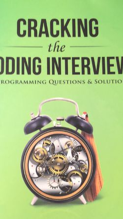 Cracking The Coding Interview Book for Sale in San Francisco,  CA