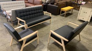 BRAND NEW AVRS Furniture 3-Piece Mid-century Style Living Room set. Multiple Color for Sale in Hilliard, OH