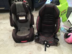 Two high back booster seats for Sale in Frederick, MD