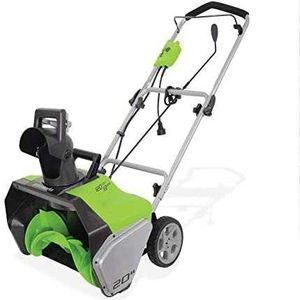 Greenworks 20-Inch 13 Amp Corded Snow Thrower for Sale in Nevada, IA