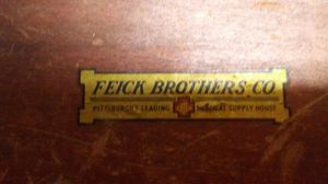 Fieck brother medical box 1880-1930 for Sale in Pittsburgh, PA