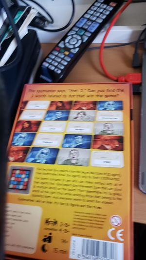 Codenames card/board game. 2-8 players. Fun team/party game for Sale in Queens, NY