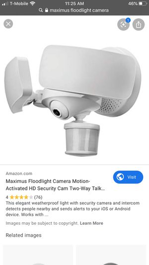 Smart Security Floodlight/Doorbell Cameras for Sale in Fremont, CA
