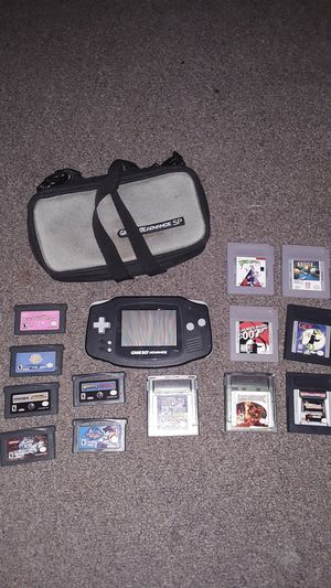 Gameboy Advanced with games for Sale in Flushing, OH