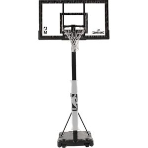 "spalding nba 60"" acrylic screw jack portable hoop system for Sale in Virginia Beach, VA"
