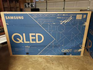 """85"""" Q80T QLED 4K SAMSUNG SMART TV CLEARANCE PRICE NEW!!! for Sale in Bellflower, CA"""