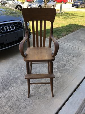 Antique high chair for Sale in Clayton, NC
