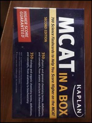 MCAT flash cards for Sale in Albuquerque, NM