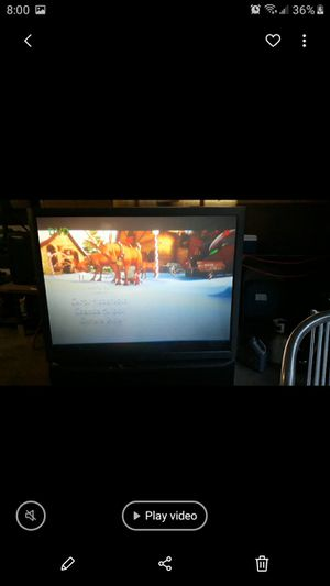 Sony projection T.V. for Sale in Auburn, MI