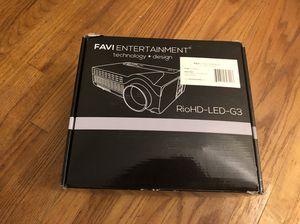 Favi Entertainment Projector for Sale in Castro Valley, CA