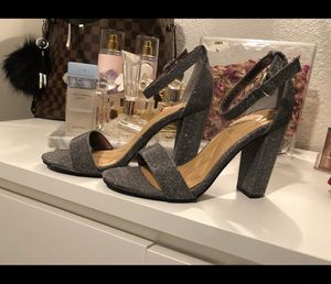 Silver heels for Sale in Mountain View, CA