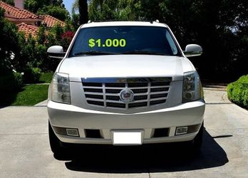 💚$1.000 2OO8 Cadillac Escalade Clean Tittle!Runs and Drives great.Nice Family car!one owner!🔑🔑 for Sale in Denver,  CO