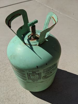 1 LB. R22 FREON TANK TOTAL WEIGHT 6LBS. 1.6OZ. for Sale in Phoenix, AZ