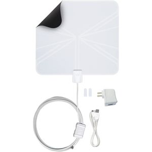 FlatWave Amped Indoor Amplified HDTV Antenna for Sale in Tacoma, WA