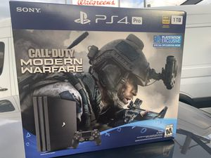 PS4 w/newest call of duty 1tb memory for Sale in Seattle, WA