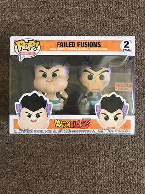 Funko Pop Dragonball Z Failed Fusions 2 pack BoxLunch Exclusive for Sale in Renton, WA