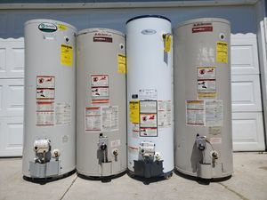 Water heaters in excellent condition with quality you can depend on for Sale in Redlands, CA