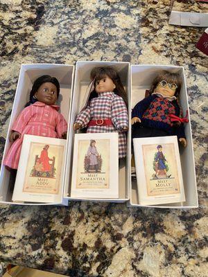American Girl mini dolls for Sale in Port Charlotte, FL