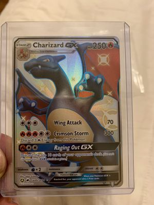 Pokemon Charizard Shiny Gx for Sale in Santa Ana, CA