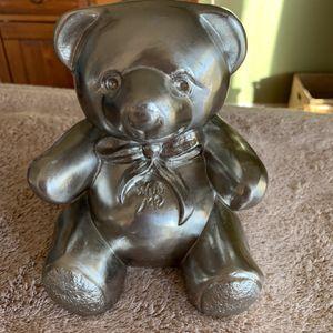 Vintage PM Craftsman Heavy Brass Teddy Bear Bookend Nursery Baby Child's Room for Sale in Alpharetta, GA