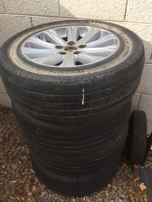 FREE rims, tires shot for Sale in Chandler, AZ