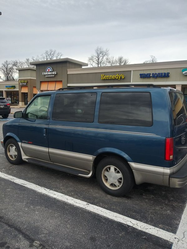 2002 Chevy Astro Work Van , Runs Good , Lots of Room , Very Reliable , New EMISSIONS , New INSPECTION , EVERYDAY driving vehicle , good Heat good AC ,