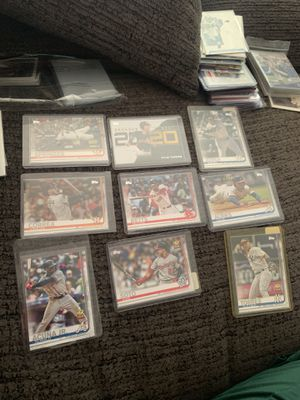 Lot off 9 baseball ⚾️ cards in mint condition for Sale in North Las Vegas, NV