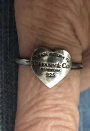 Return to Tiffany Heart Ring - Authentic for Sale in Dallas, TX