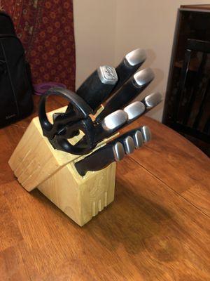 11 piece knife set for Sale in Lynnwood, WA