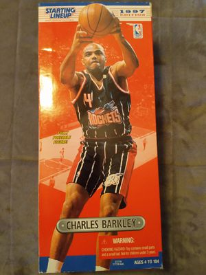 "VINTAGE COLLECTIBLE 1997 STARTING LINE UP 14"" CHARLES BARKLEY ACTION FIGURE for Sale in El Mirage, AZ"