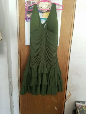 Size medium olive dress for Sale in Cleveland, OH