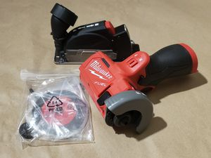 Milwaukee M12 FUEL 12-Volt 3 in. Lithium-Ion Brushless Cordless Cut Off Saw (Tool-Only) for Sale in Greenville, SC