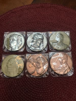 Star Wars 2005 California Lottery Coin Set for Sale in East Los Angeles, CA