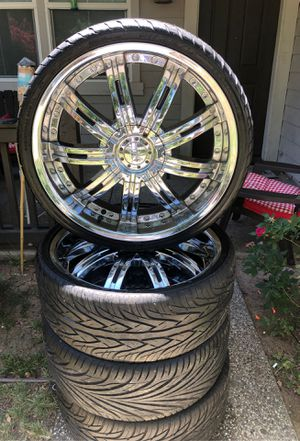 Rims for sale 22' inch $400 obo for Sale in Elk Grove, CA