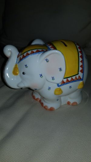 Geo Z. Lefton Elephant Piggy Bank for Sale in Fountain Hill, PA