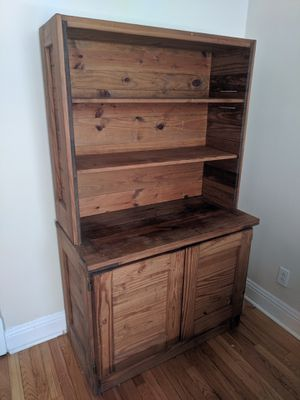 This End Up hutch cabinet and shelf for Sale in Chicago, IL