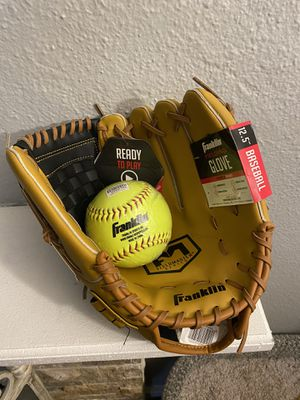 Baseball Glove and Softball for Sale in Federal Way, WA