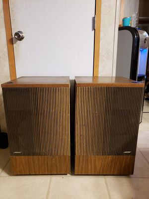 Vintage 1977 Bose 501 Series I Direct/Reflecting Speakers for Sale in Needville, TX
