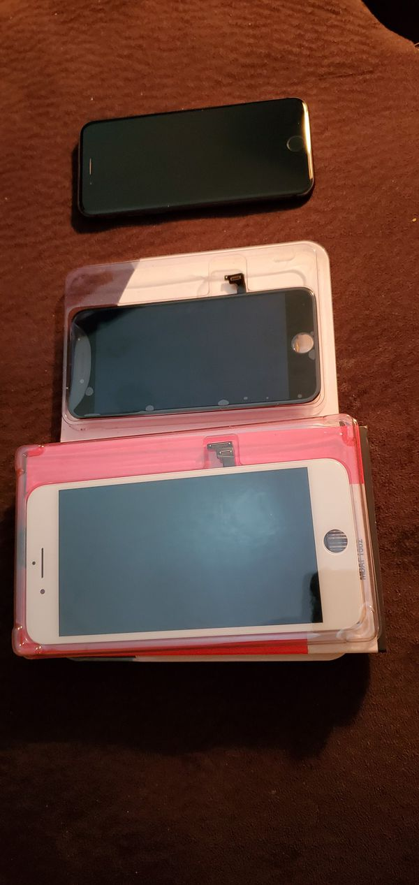 iPhone 8 lcd, iphone 8 plus lcd and Iphone 8 (pin code)