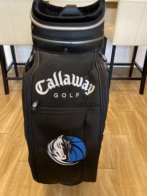 Dallas Mavericks Callaway Golf Cart Bag for Sale in Dallas, TX
