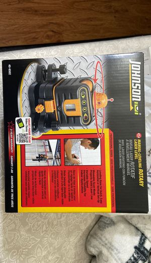 Johnson rotary laser level for Sale in Chicago, IL
