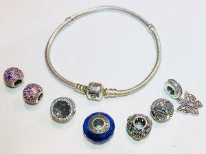 Pandora Bracelet with Charms for Sale in Atlanta, GA